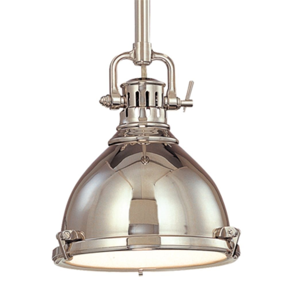 Nautical pendant light in polished nickel finish nautical pendants hudson valley lighting nautical pendant light in polished nickel finish 2211 pn aloadofball Gallery