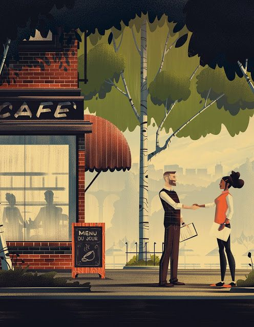 i am designer: Иллюстрации о любви к путешествиям