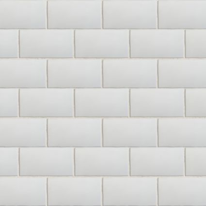 Padstow White Ceramic Wall Tile Pack Of 44 L 150mm W 75mm Departments Diy At B Q Ceramic Wall Tiles Wall Tiles Lavender Laundry Room