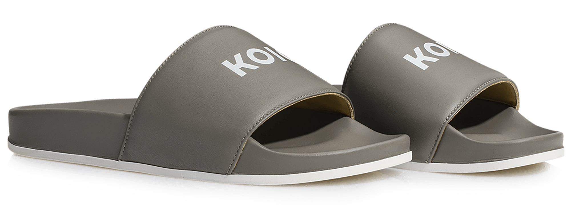 KOIO Women's Slip-on Leather Sandals in
