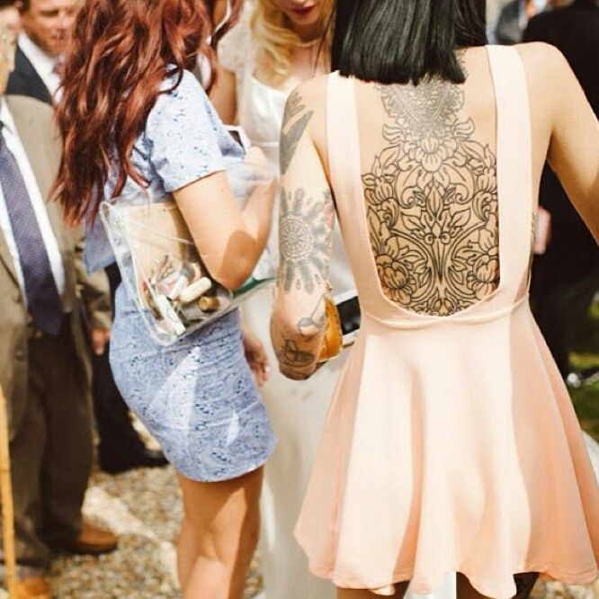 Hannah Snowdon's back piece it's lovely ♡ tattoos