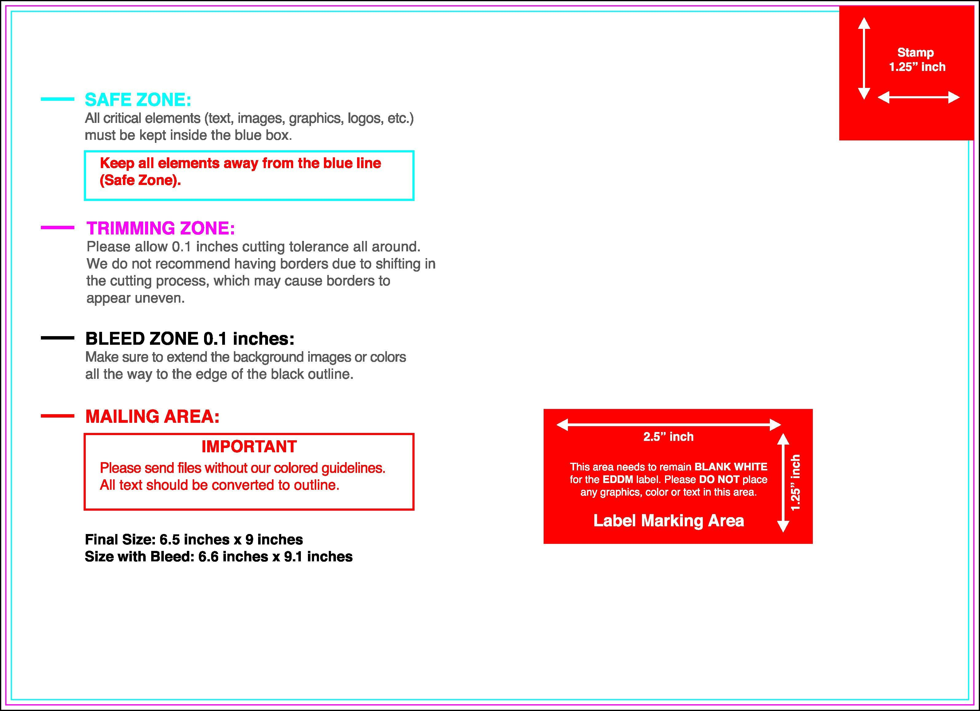 6 X 9 Postcard Template Cutthroat Printprint Your Postcards At Cutthroat Print Postcard Template Postcard Template Free Printing Business Cards
