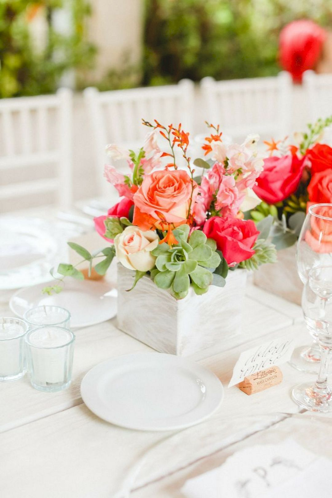 Elegant 25+ Summer Wedding Centerpieces Ideas On a Budget | Summer ...