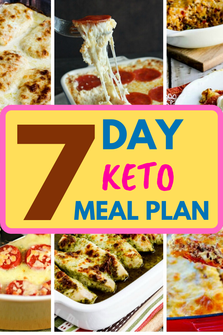 7 Day Keto Meal Plan #ketomealplan