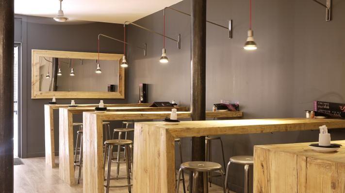 Colgadores bar buscar con google bar pinterest for Barra estilo industrial