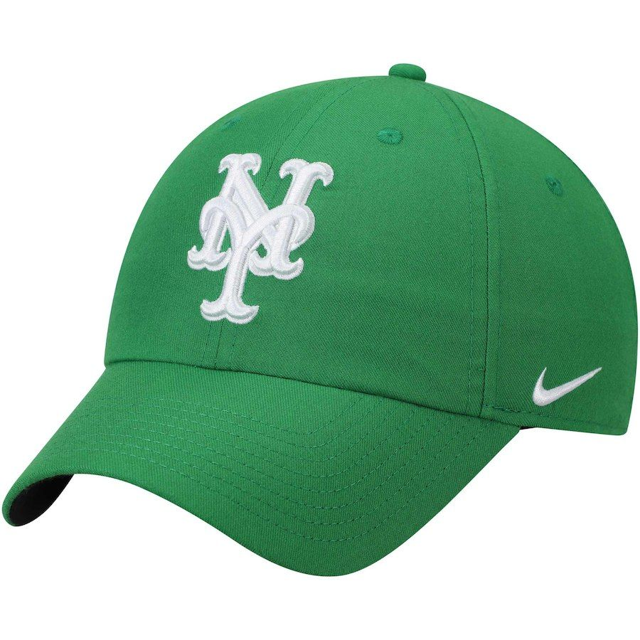 2b006db0f2abbc Men's New York Mets Nike Green St. Patrick's Day Heritage 86 Stadium Adjustable  Hat, Your Price: $25.99