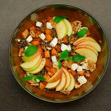 Salade d'automne (Bio) | Carrefour #saladeautomne