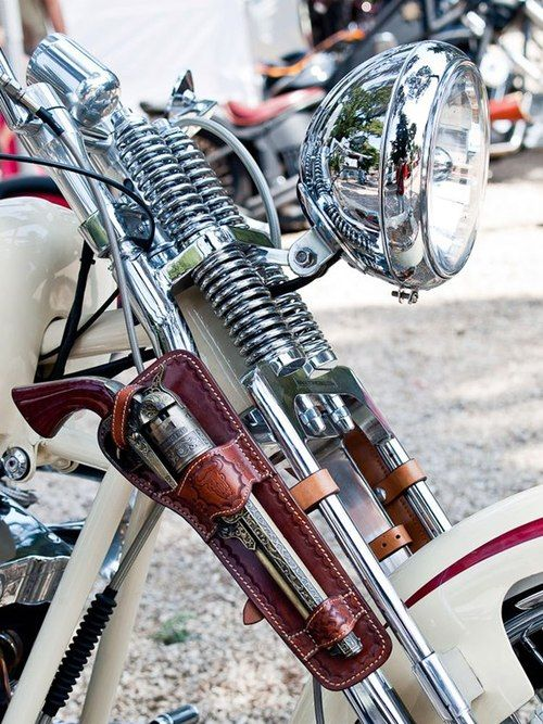 Smoke Stack Motorcycle Accessories Guns Harley
