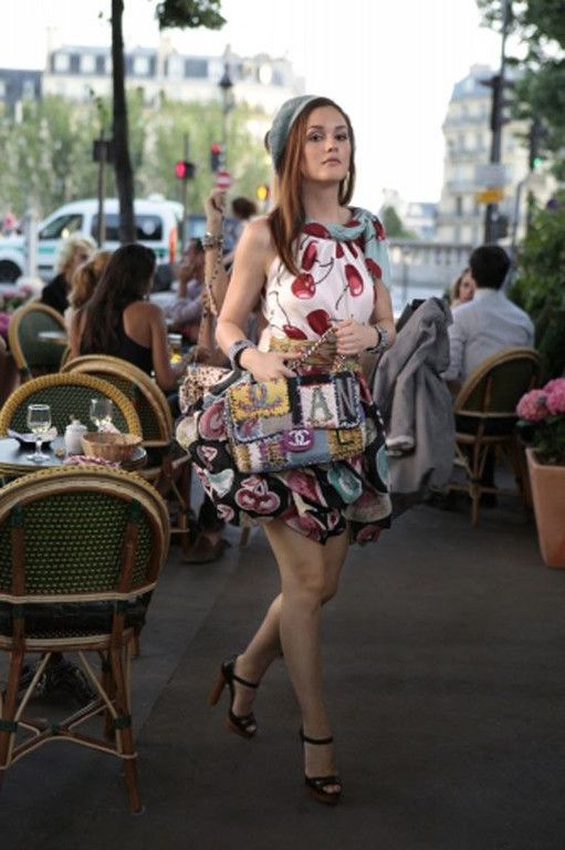 e4f14f44c9b Blair Waldorf in Paris in Gossip Girl