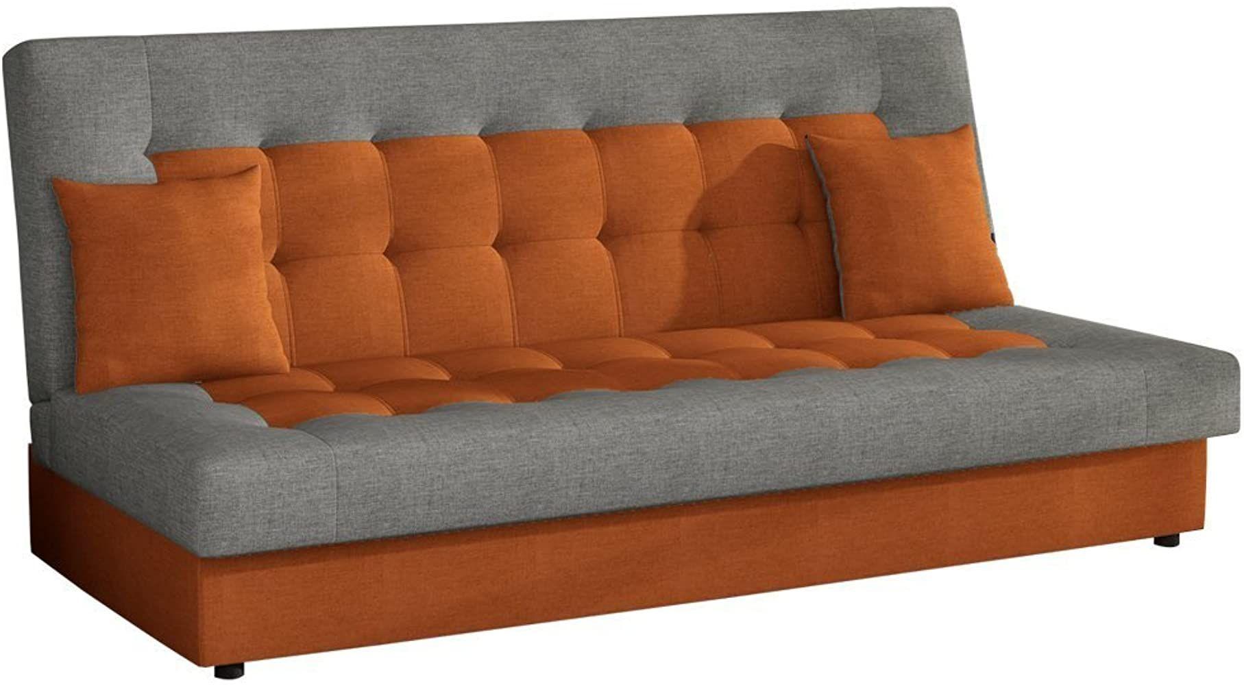 Modernes Sofa Neon Mit Bettkasten Und Schlaffunktion Lounge Couch