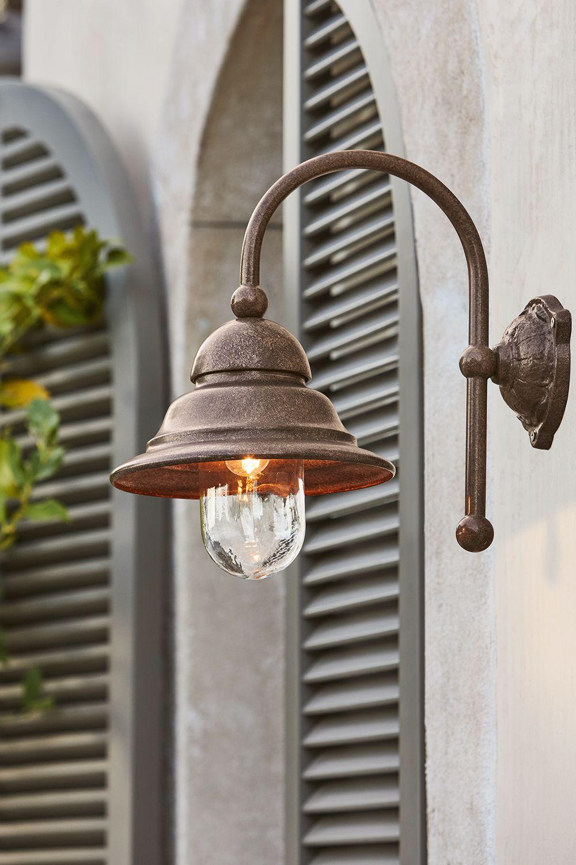 Aussenwandlampe Keela Outdoor Lampe Im Antikfinish Loberon Coming Home Lampe Aussenwandlampen Aussenlampen