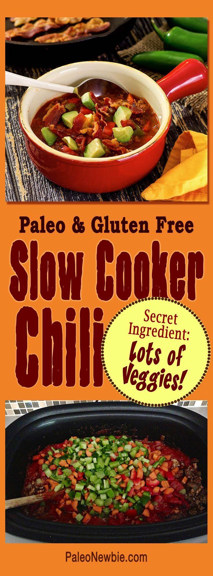 Paleo Crock Pot Chili Recipe Paleo Crockpot Chili