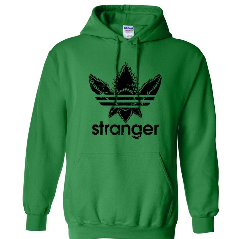 Stranger Things Adidas Hoodie Shirt