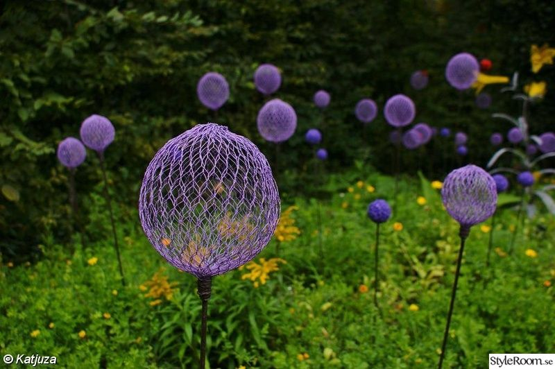 trädgårdsdekorationer att göra själv