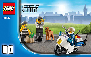 Police Station 60047 - LEGO City Police - Building