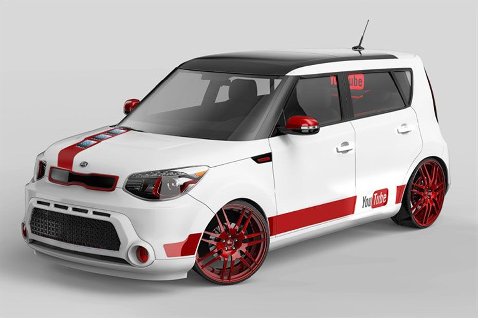 Counting Down To Tomorrow S Ytma Craziness Kia Unveils The 2014 Soul Youtube Edition Kia Soul Kia Kia Motors