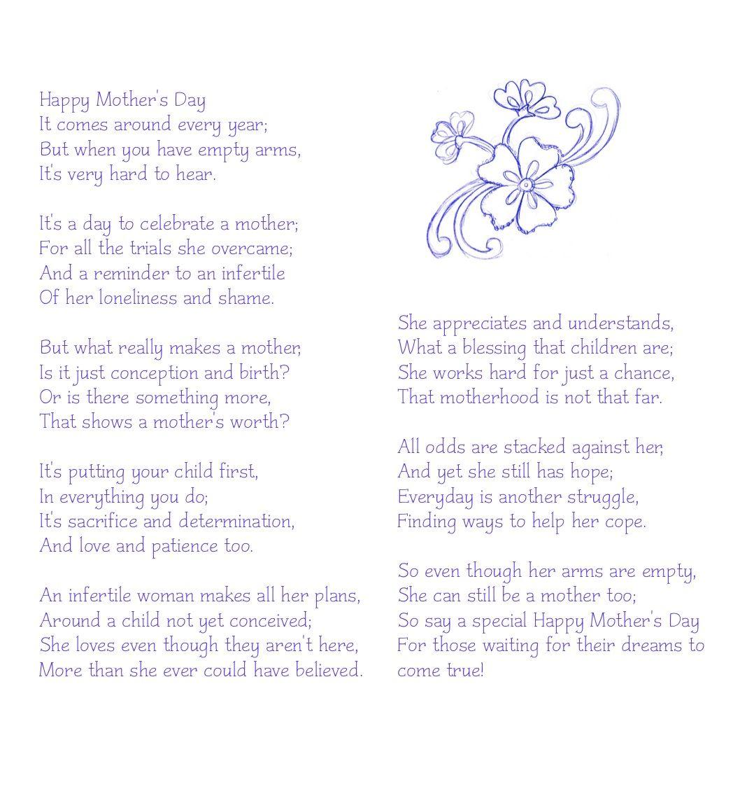 Infertility Poems 2