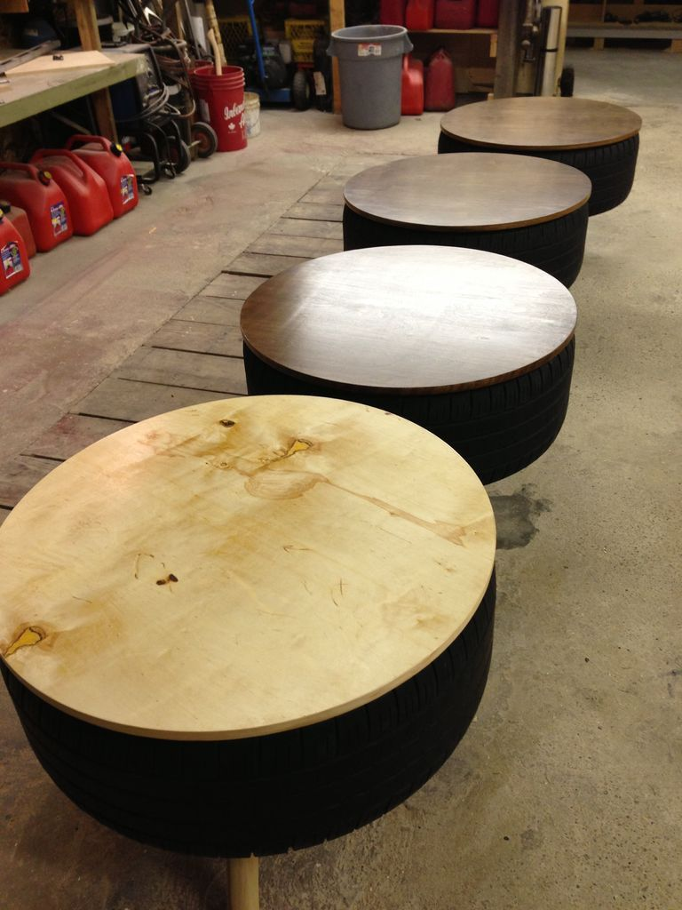 Recycled tire coffee table nascar tires tired and recycle tires recycled tire coffee table geotapseo Image collections