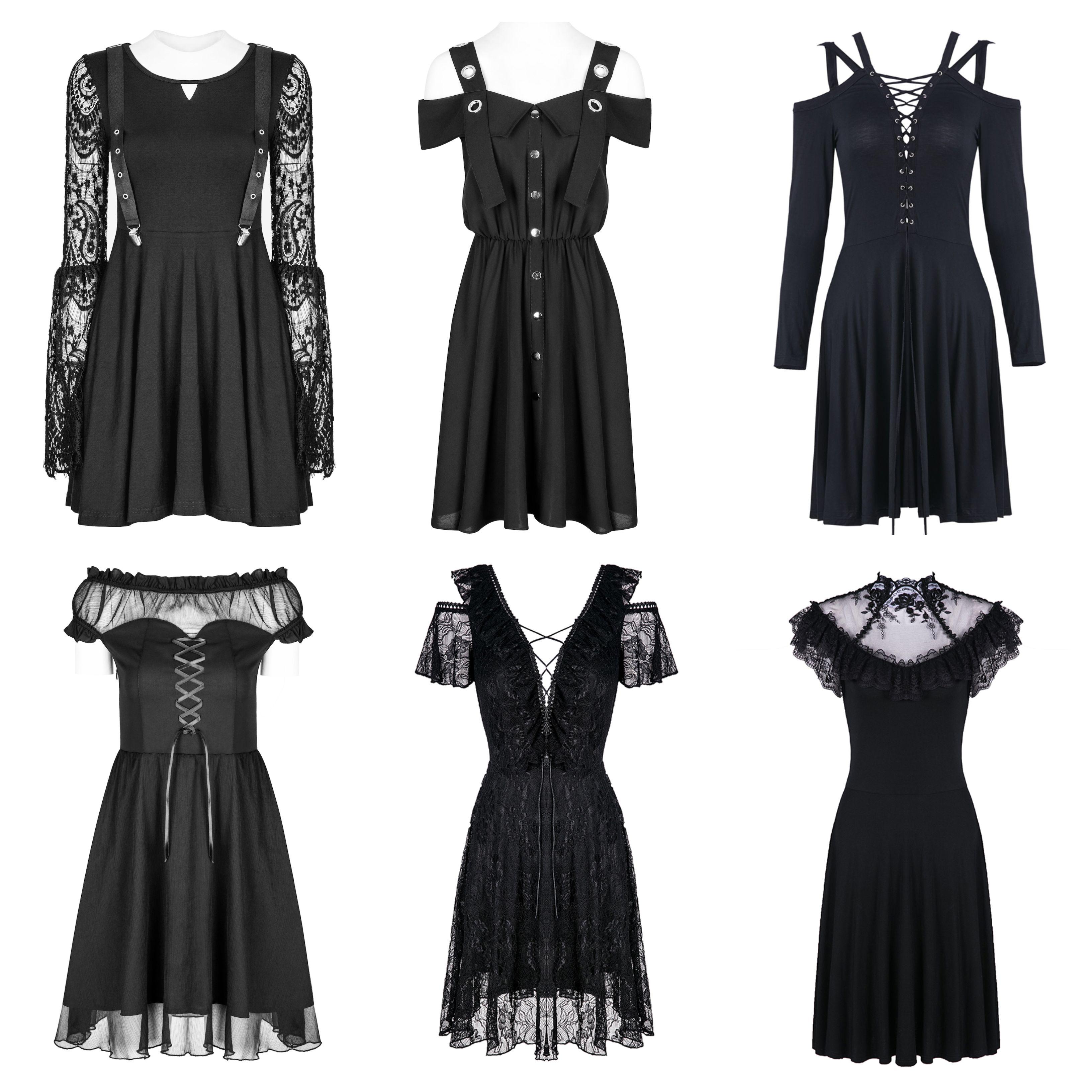 Black Summer Dresses Summer Black Dress Alternative Dress Beautiful Fashion [ 3264 x 3264 Pixel ]
