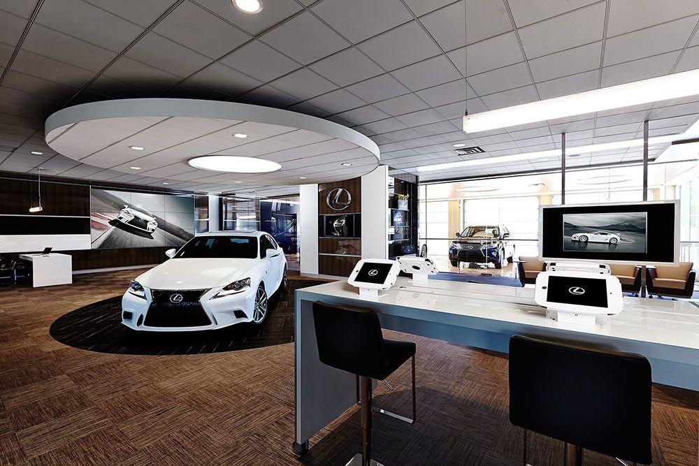 Our Shops And Amenities At The Centre Escondido Showroom Interior Design Lexus Car Showroom Interior