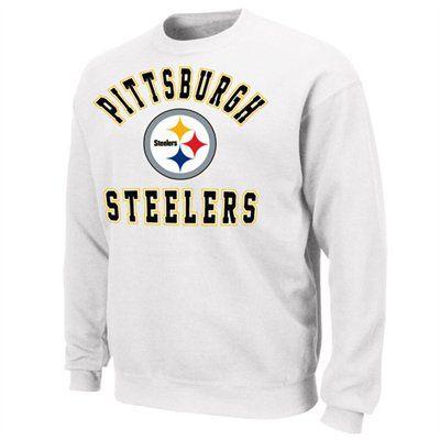 Pittsburgh Steelers Football Club Fleece Sweatshirt White