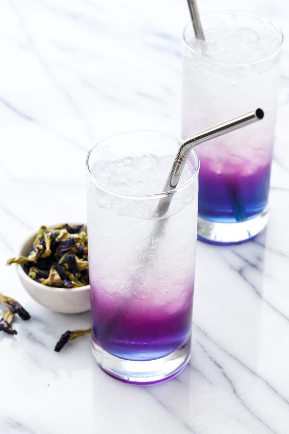 Aka Milky Love Porn blue moon milk | recipe | butterfly pea, lemonade, chocolate