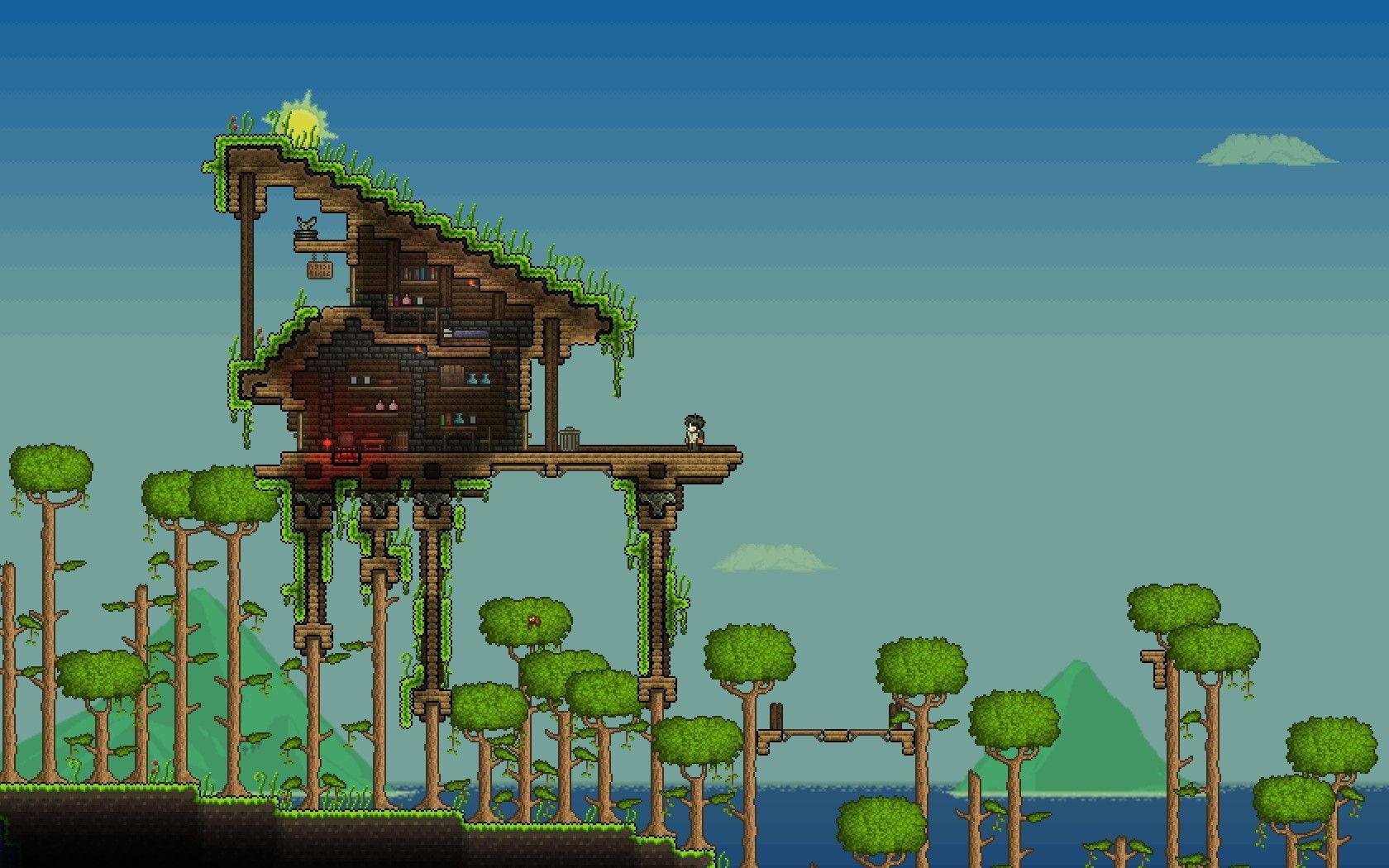 Modern House Terraria Zion Star