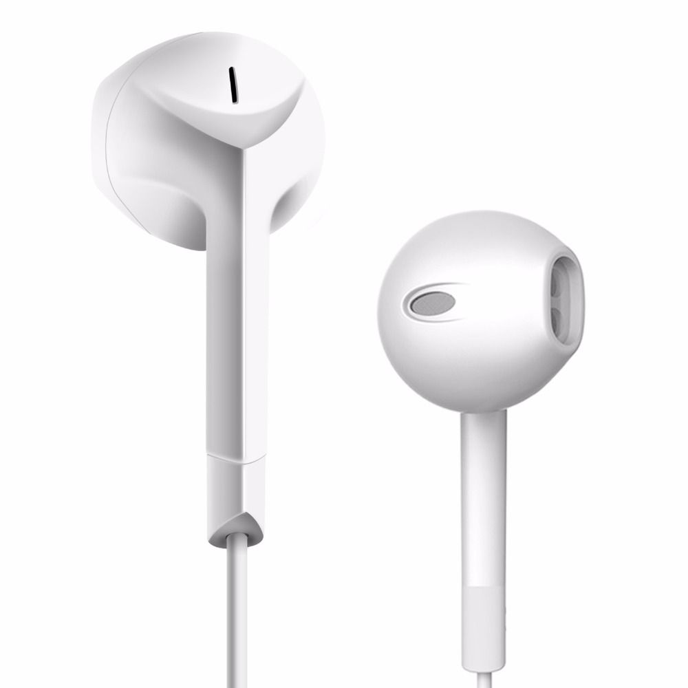 Marque D Origine P6 Ecouteurs Stereo Casque Demi In Ear Ecouteurs Avec Microphone Pour Telephone Mobile Xiaomi Iphone Earbuds Headphones Earphone