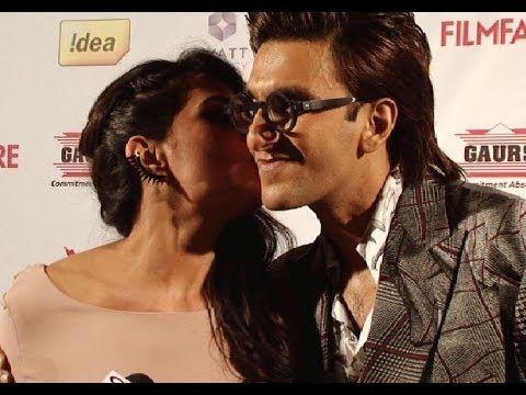 Richa Chadda Kisses Ranveer Singh Caught In Camera Ranveer Singh Bollywood Gossip Youtube