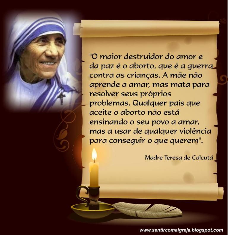 Frases Celebres De Madre Teresa De Calcuta Com Imagens Madre