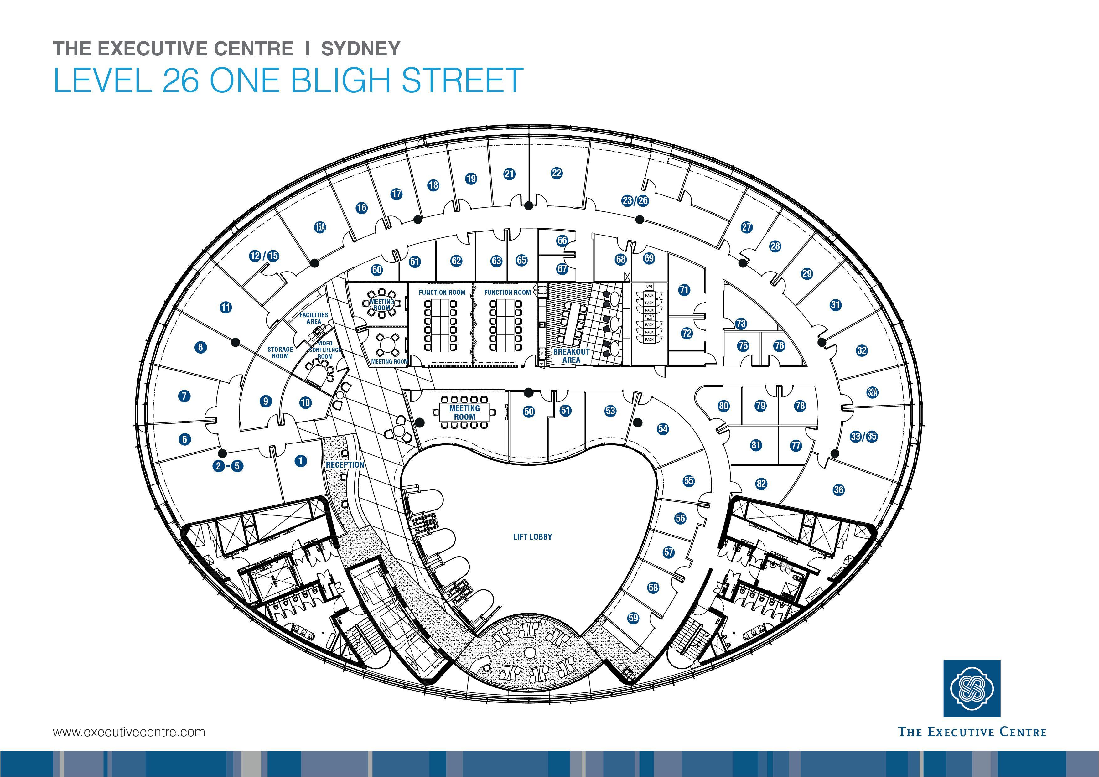 Fp Syd 1 Bligh St Jpg 3509 2481 Office Floor Plan Office Tower How To Plan