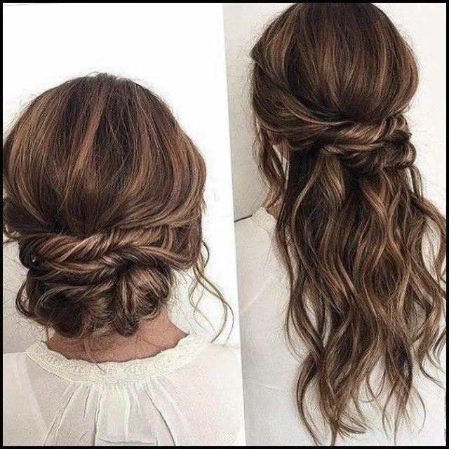 Long Churidar For Wedding As Guest With Hair Style: Medium Length Wedding Hairstyles