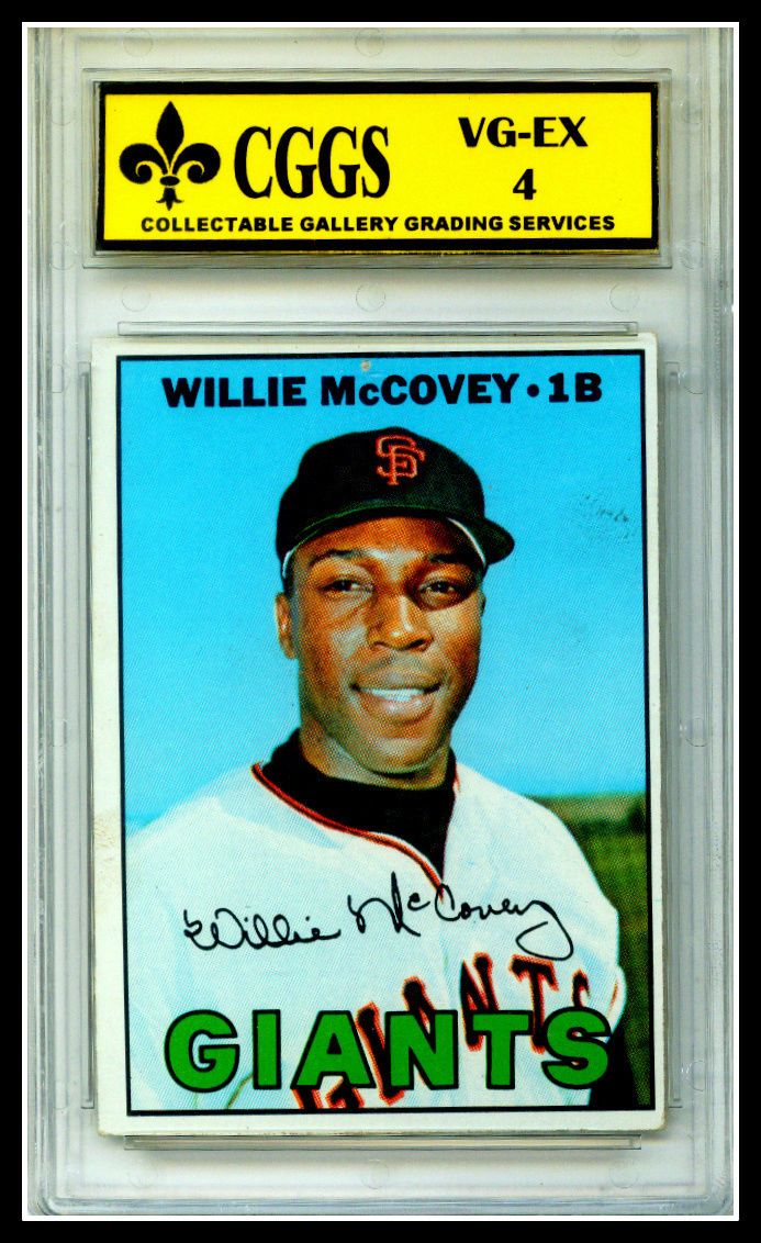1967 Topps Willie McCovey #480 Graded CGGS 4 VG MT Free SHIP!