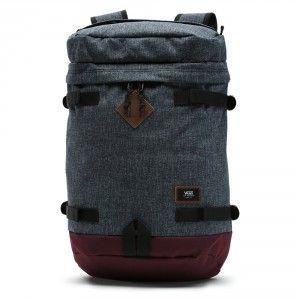 3026aba85 Vans Clamber Backpack - Heather Black / Port Royale | Backpacks ...