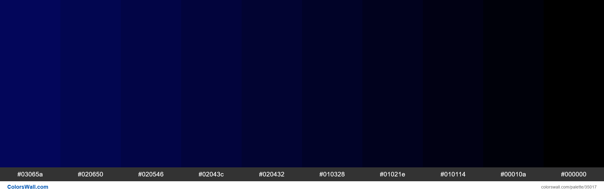 Shades Xkcd Color Darkblue 030764 Hex In 2020 Shades Of Dark Blue Dark Blue Paint Hex Colors