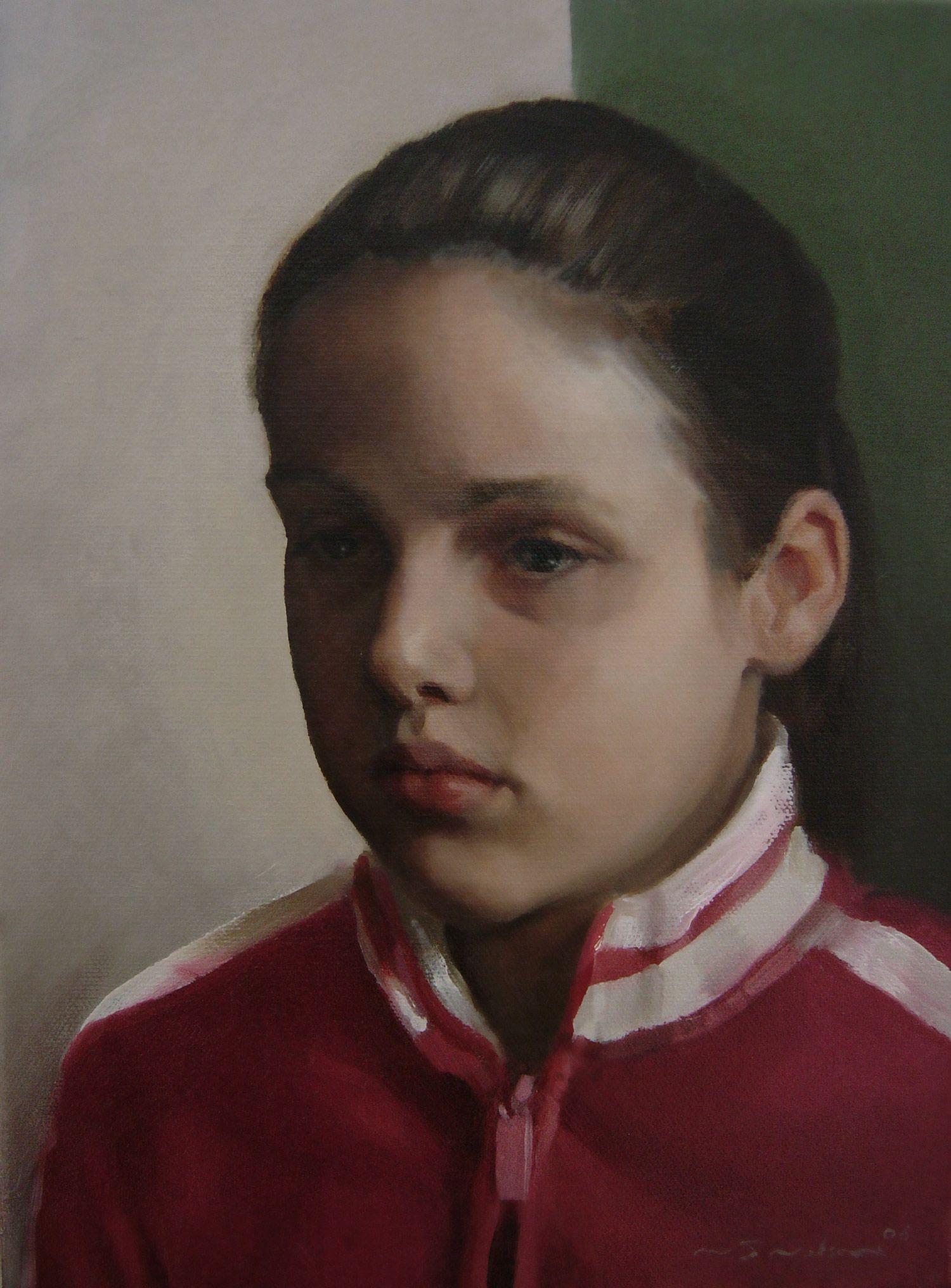 Georgia - oil on canvas - Neil Nelson