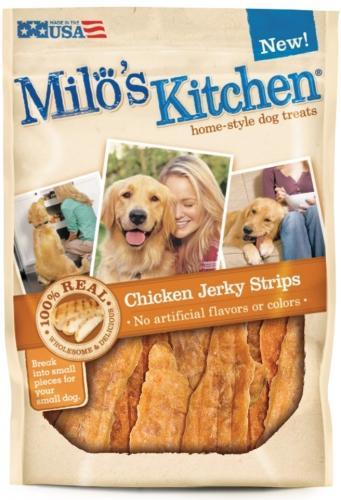 Milo S Kitchen Chicken Jerky Dog Treats Bacon Dog Treats Dog