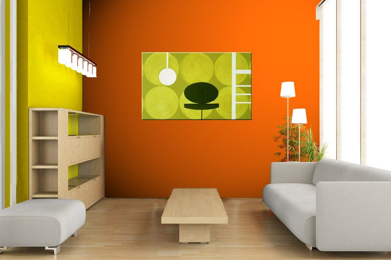 Pinturas Para Salas Modernas Peque Os Pinterest