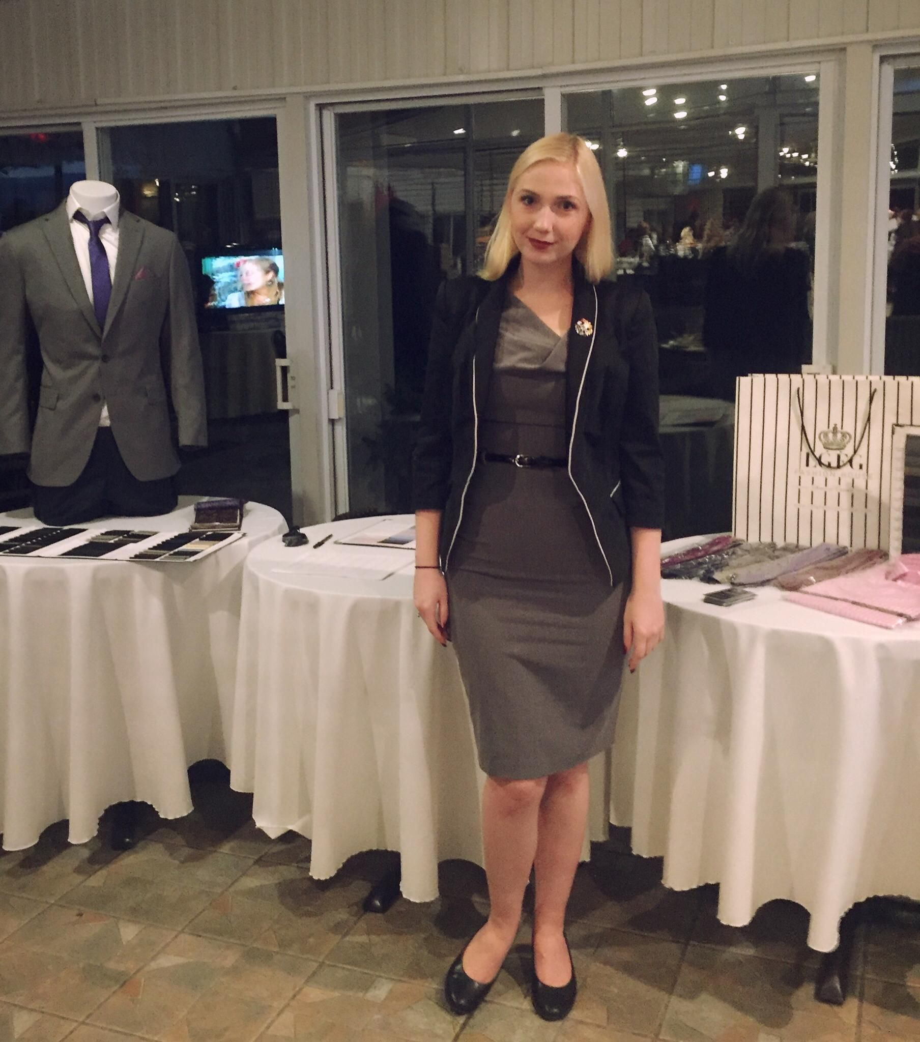 LGFG Fashion House executive clothier Madeline Mason was in Quebec at Club  de Golf La Madeleine f11a9b13f26d