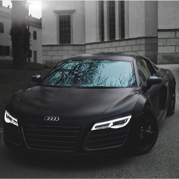 Matte Black Audi R8 Photo Via At Aaltomotive Onlyforluxury