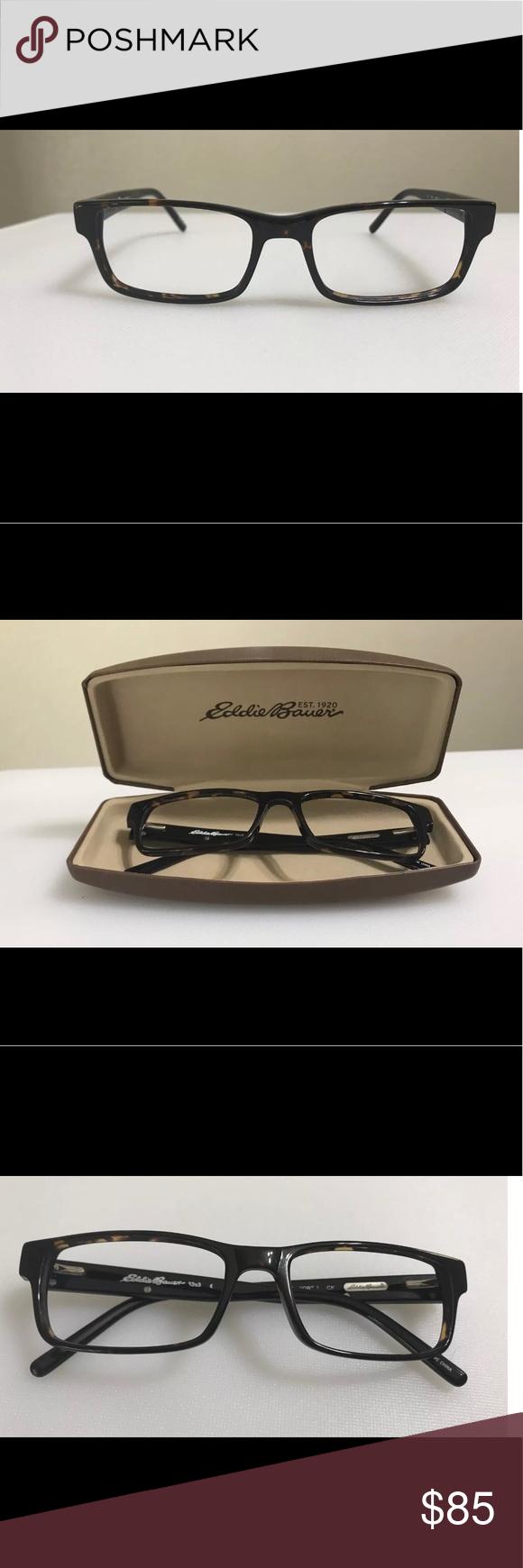 9e00db26549e Eddie Bauer 8353 Eyeglass Frame with hard case Very gently used Eddie Bauer  Eyeglass Frames Model   8353 Specifications- Gender  Mens