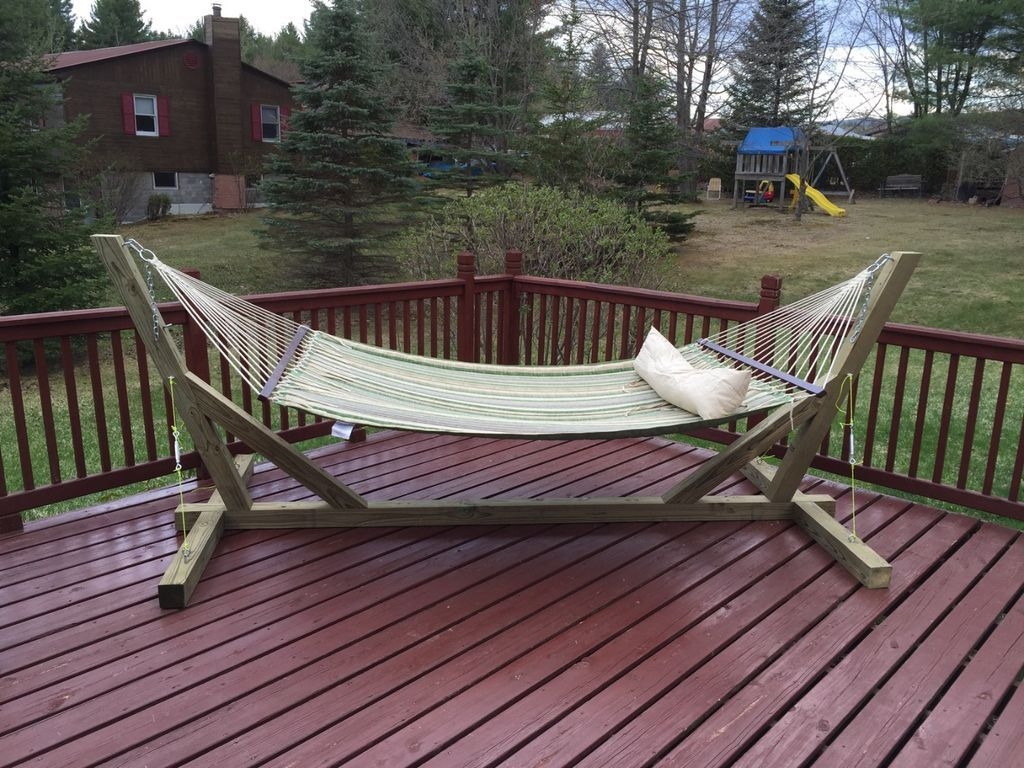 Hammock stand indoor u outdoor stefi pinterest diy hammock