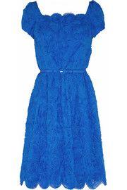 Oscar de la RentaRuffled silk-chiffon mini dress