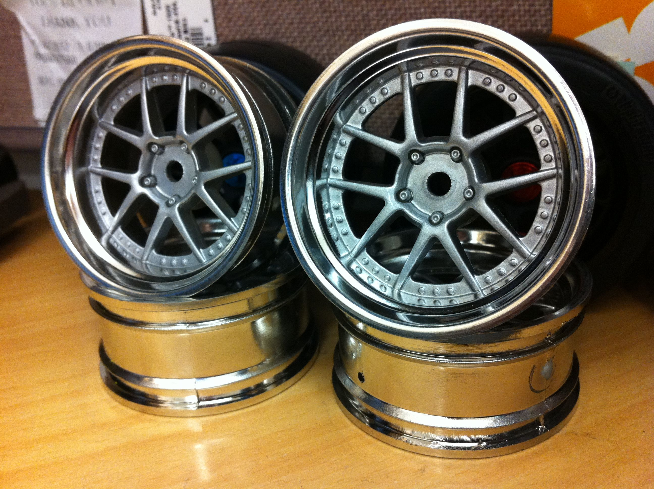 Yoshihara Design Champion Wheel For R C Drift Car