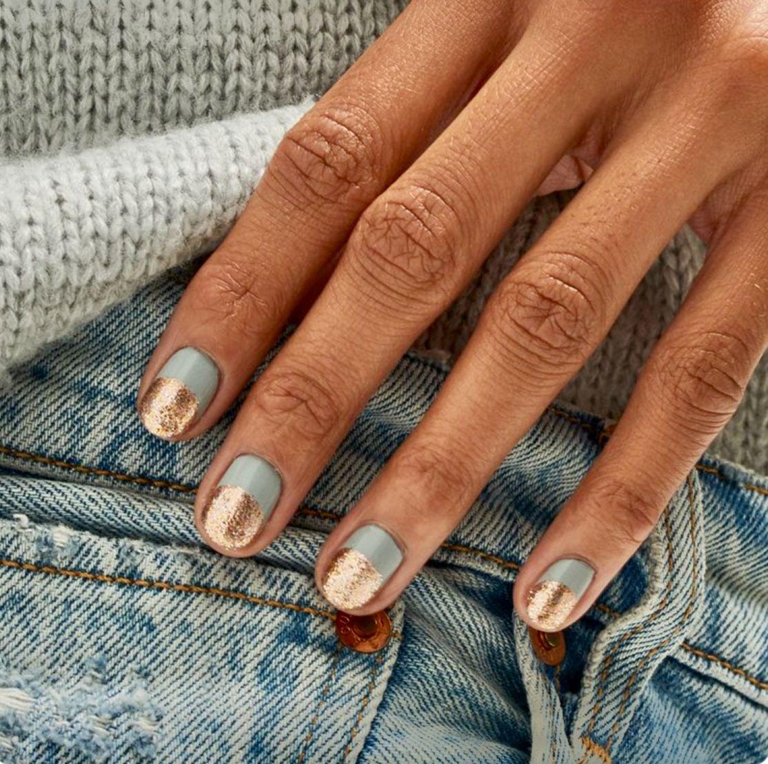 Pin By Halise Devrim On Stylish Hairish Minimalist Nails Short Gel Nails Nails