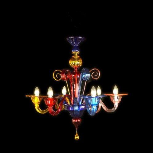Kronleuchter aus Murano-Glas \
