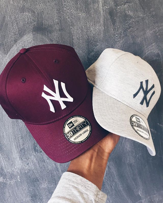 15963b79ae0f3 That New New  New Day, New Week,  NewEra SA  Headgear  Caps  NewYork  NY   Yankees  Burgundy  Grey  NewEra  ModernMaps