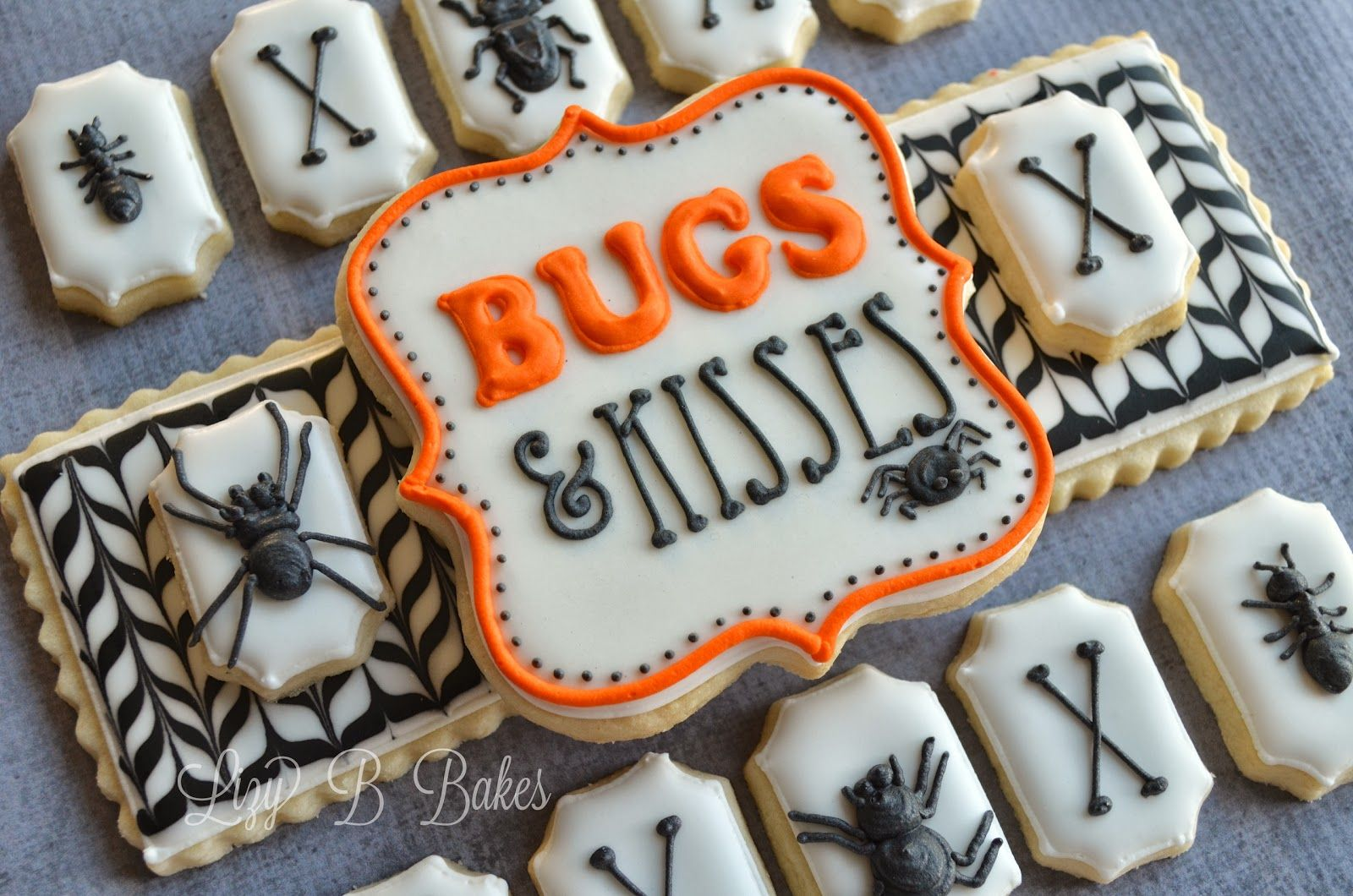 Lizy B \ - Halloween Decorated Cookies