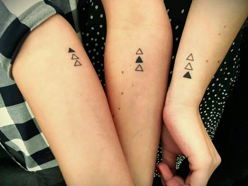 Sister Tattoo A Special Symbol Of Me And My Two Sisters With This