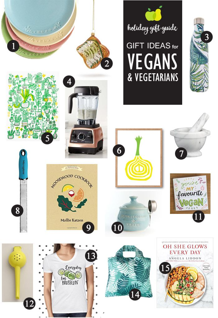 Gift Ideas For Vegetarians And Vegans Vegetarian Gifts Vegan Christmas Gifts Vegan Christmas